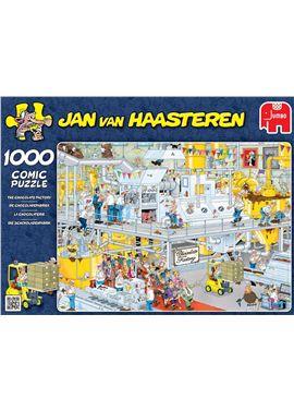 Puzzle 1000 jvh-fabrica de chocolate- jumbo - 09517452