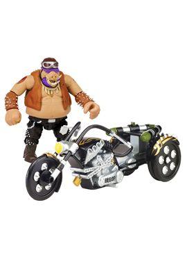 Tortuga ninja movie 2 moto + figura bebop - 23489302