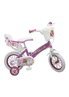 Bicicleta 12 paw patrol rosa - 34301271