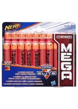 Nerf mega 20 dardos - 25587175