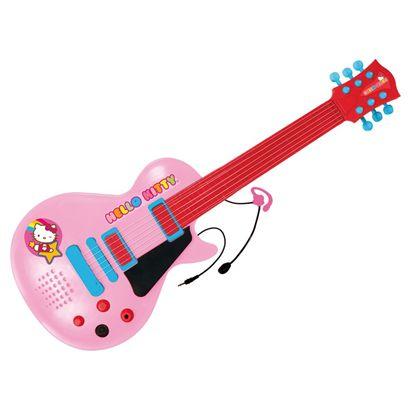 Guitarra electronica con micro hello kitty - 31001505(1)