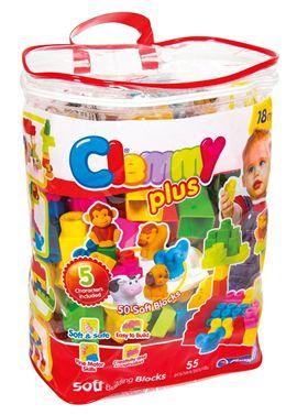 Clemy plus bolsa 50 bloques + 5 personajes - 06617136