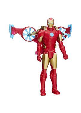 Avengers figura iron man 30 cm. con vehiculo - 25506156
