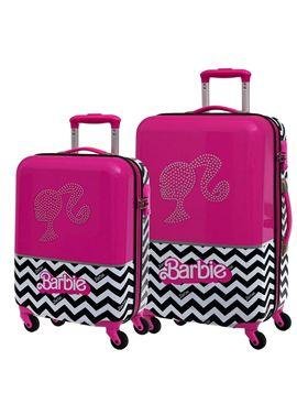 Set 2/trolleys abs 55/69cm.4r.barbie 3271251 - 75829498