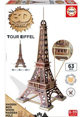 3d monument torre eiffel - 04016998