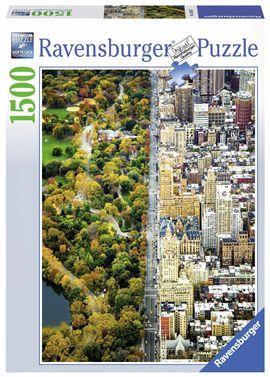 Puzzle 1500 ciudad dividida - 26916254