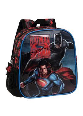 Mochila 25cm superman vs batman