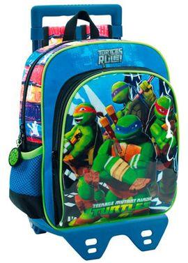 Mochila adaptable 28cm carro tortugas ninja - 75829670