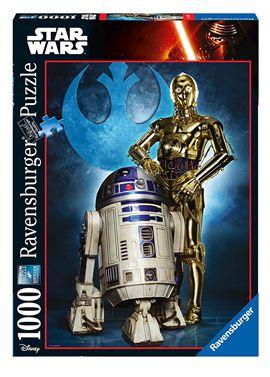 Puzzle 1000 star wars droidi - 26919682