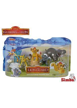 Lion guard set 5 figuras - 33318709