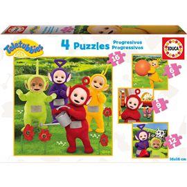 Puzzle progresivo teletubies 6-9-12-16 - 04017015