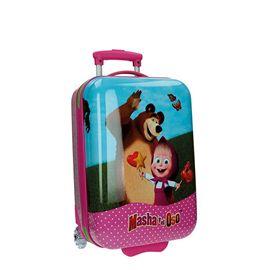 Trolley abs 50cm 2r masha y el oso - 75800001