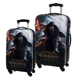 Set 2 trolleys abs 55 y 67cm star wars awakens - 75828749