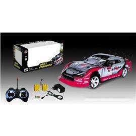 Coche rc 1:14 con luces pack batería y pilas - 87863929
