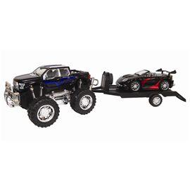 4x4 con remolque y vehículo 60cm fricción