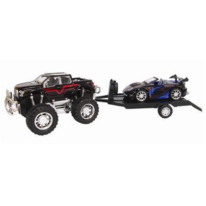 4x4 con remolque y vehículo 60cm fricción - 89815093(2)