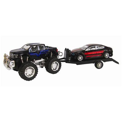 4x4 con remolque y vehículo 60cm fricción - 89815093(3)