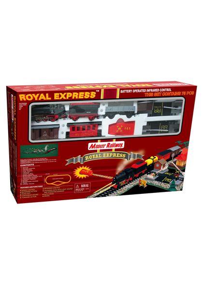 Circuito tren royal express 2 velocidades, 4 sonid - 92908101