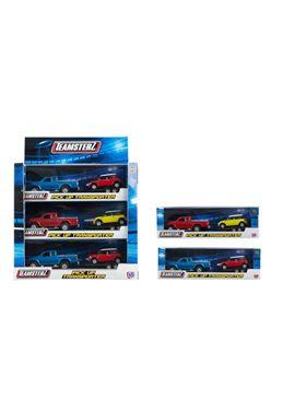 Pick-up con remolque y vehículo 1:32 - 94870230
