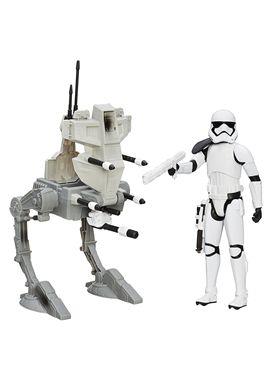 Star wars vehiculo con figura assault walker - 25503919