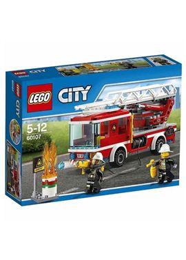 Camion de bomberos con escalera - 22560107