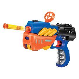 Pistola lanza dardos suaves 2 surt - 98781335