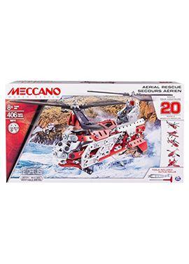 Meccano 20 modelos - helicoptero - 03529178