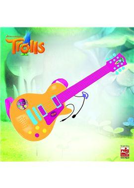 Guitarra electronica con micro trolls - 31003878