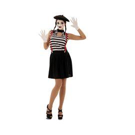 Disfraz mimo mujer - 55200566