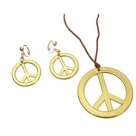 Colgante y pendientes hippies - 55201456