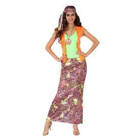 Disfraz hippie mujer - 92799800