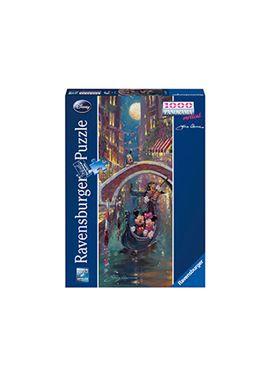Puzzle 1000 pz romántica venecia disney - 26915055