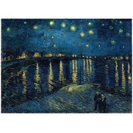 Puzzle 1000 pz van gogh: noche estrellada - 26915614