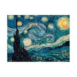 Puzzle 1500 pz van gogh: noche estrellada - 26916207