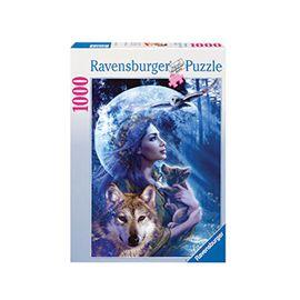 Puzzle 1000 pz la mujer y el lobo - 26915414