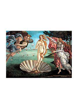 Puzzle 1000 pz botticelli: el nacimiento de venus - 26915769