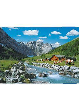 Puzzle 1000 pz monte karwendel, austria - 26919216