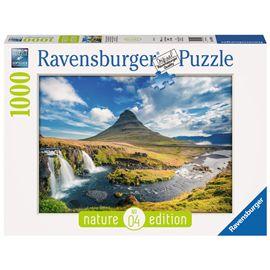Puzzle 1000 pz cascadas de kirkjufell, islanda - 26919539