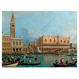Puzzle 1000 pz canaletto: palacio del duque - 26915402