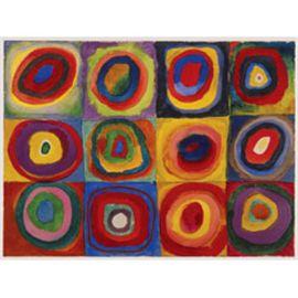 Puzzle 1500 pz kandinsky: estudio sobre el color - 26916377