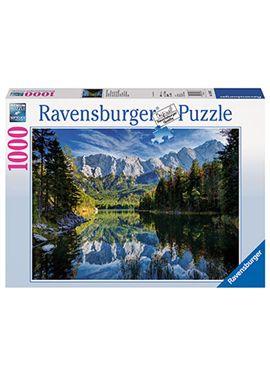 Puzzle 1000 pz el lago de eibsee entre las montaña - 26919367
