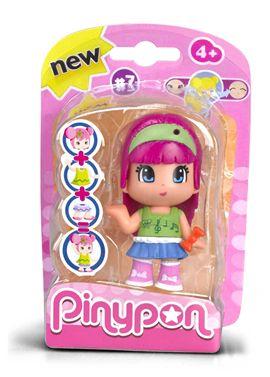 Pinypon chica pelo rosa serie 7 - 13003596(1)