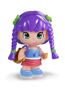Pinypon chica pelo lila serie 7 - 13003597