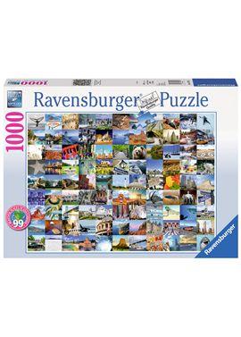 Puzzle 1000 pz 99 beautiful places usa/canada - 26919709