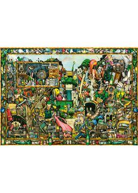 Puzzle 1000 pz colin thompson: los tesoros de un t - 26919760