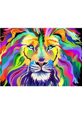 Puzzle 1000 pz rey de los colores - 26919721