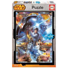 Puzzle 500 star wars - 04016167