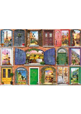 Puzzle 1500 puertas de europa - 04017118