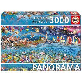 Puzzle 3000 vida panorama - 04017132