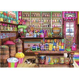 Puzzle 1000 tienda de dulces - 04017104